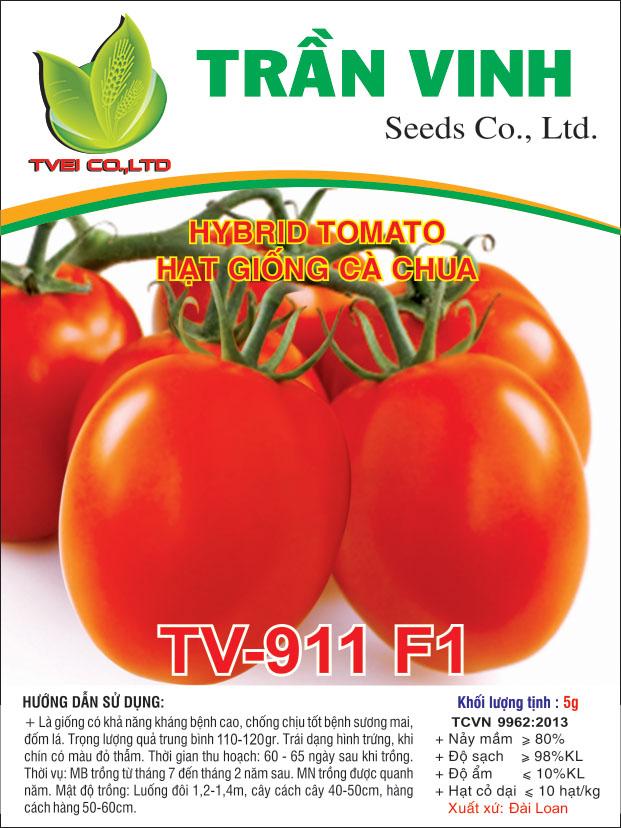 Hạt giống Cà chua TV-911 F1