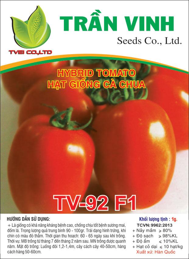 Hạt giống Cà chua TV-92 F1