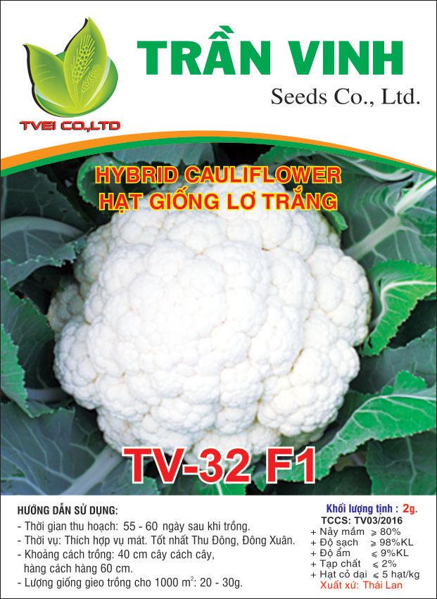 Hạt giống Lơ trắng TV-32 F1