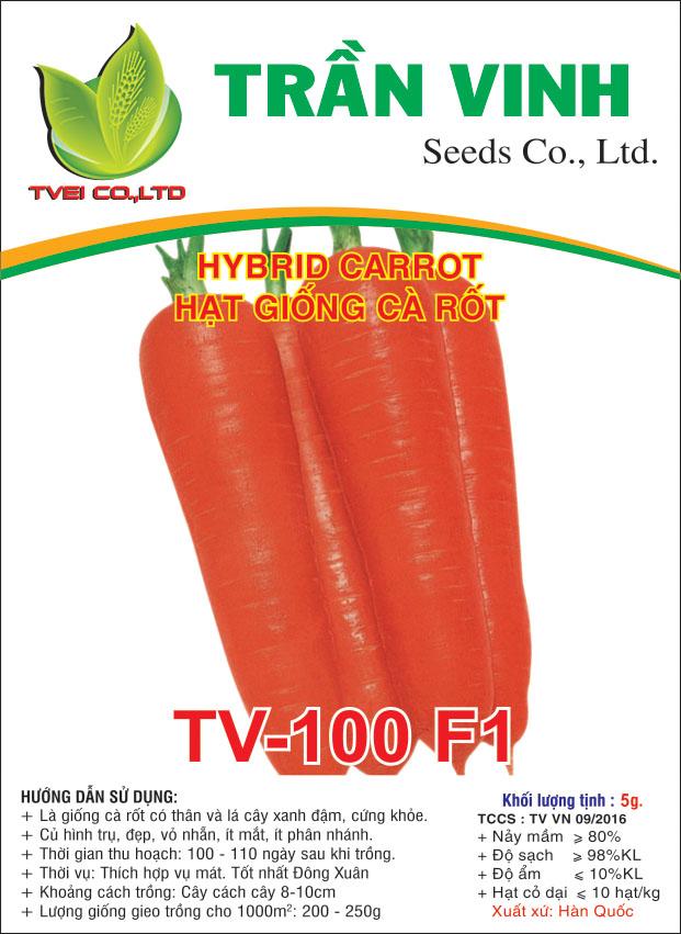 Hạt giống Cà rốt TV-100 F1