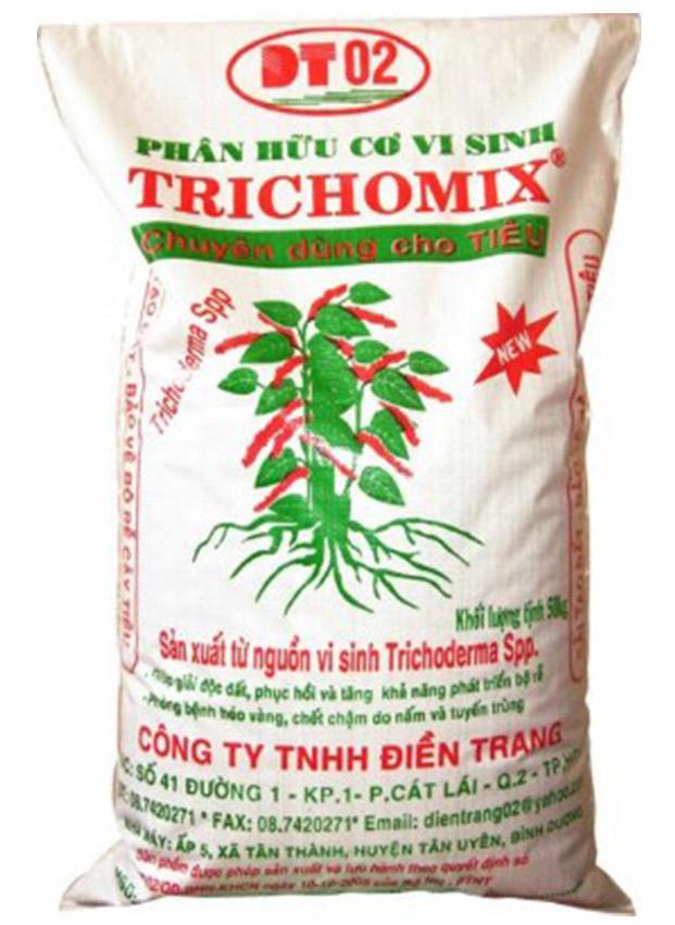 Phân hữu cơ vi sinh Trichomix - TIÊU