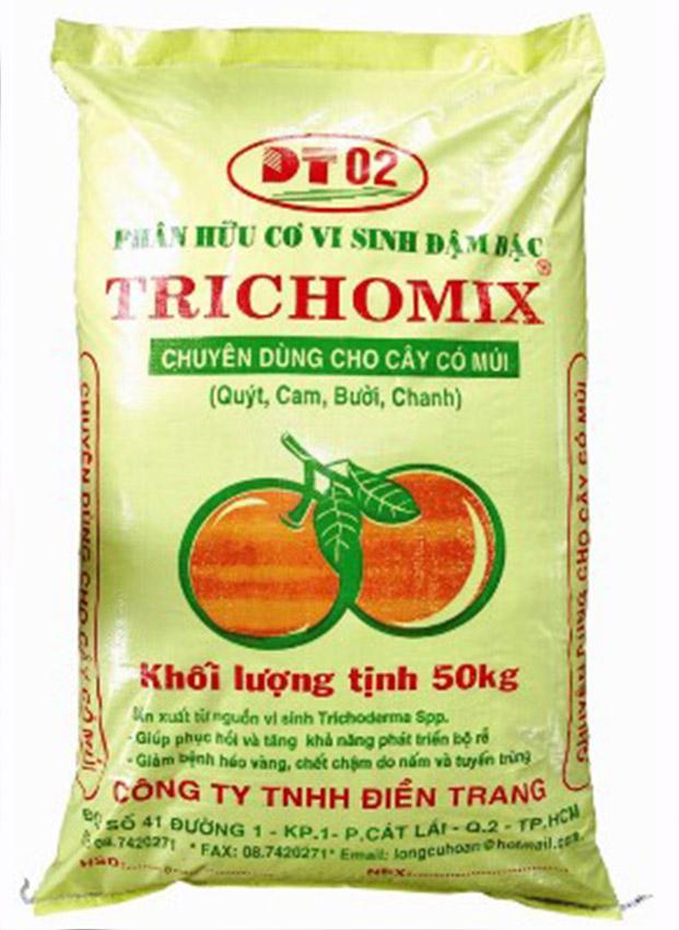 Phân hữu cơ vi sinh Trichomix