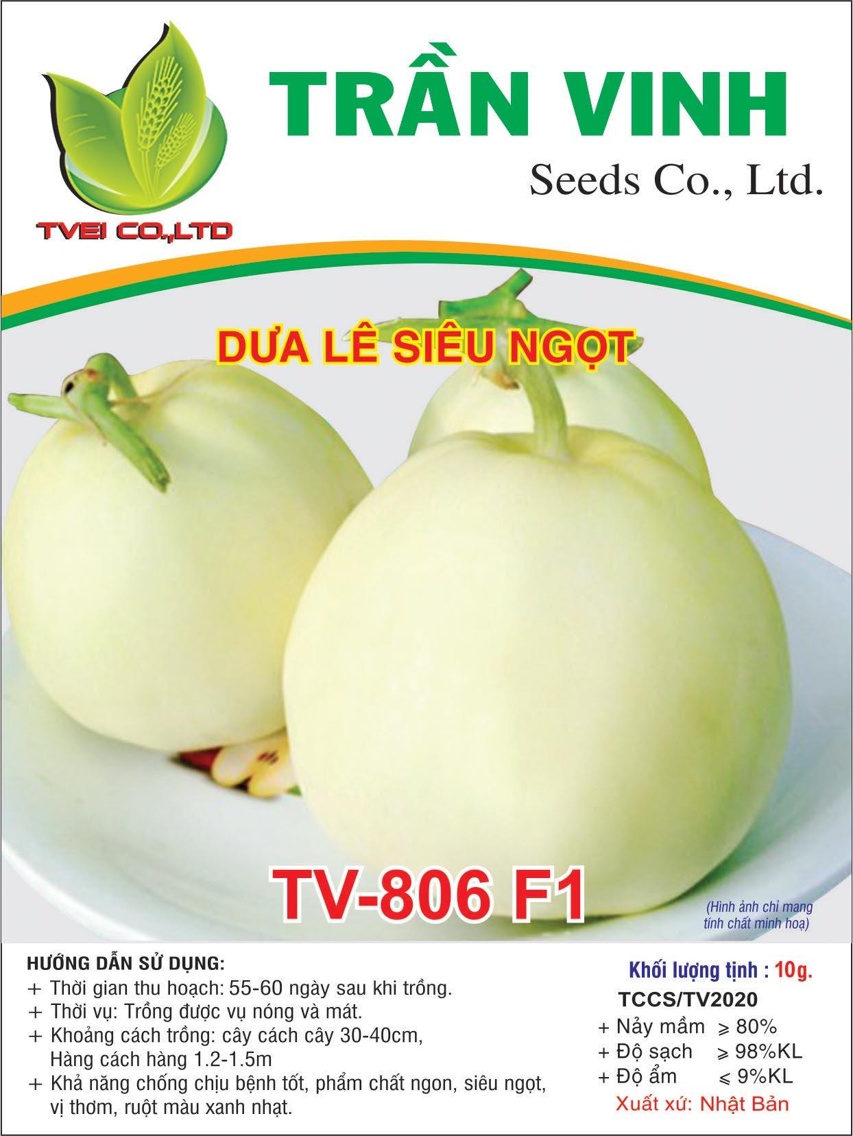 Dưa Lê siêu ngọt - TV806 F1